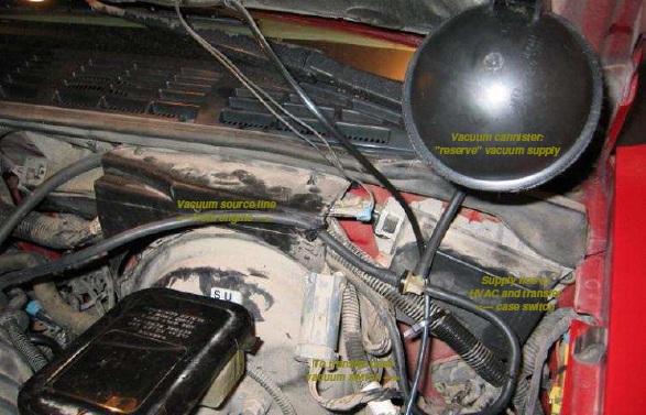 Hvac  U0026 T-case Switch Fix  How-to  213