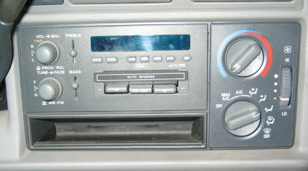 Gmc sonoma chevy s 10 transfer case vacuum switch check out the old school cassette tape player circa 1996 with auto reverse and dolby noise reduction i was too cheap to add the cd player option publicscrutiny Gallery